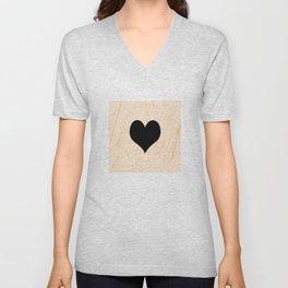 Scrabble Heart - Scrabble Love Unisex V-Neck