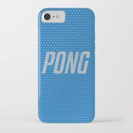 'PONG!' - Table Tennis Bat iPhone Case