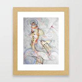 Koi 2 Framed Art Print
