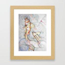 Koi 2 Framed Art Print