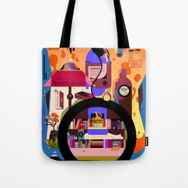 An Evening to Myself Tote Bag