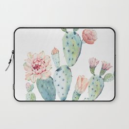 Cactus 2  White #society6 #buyart Laptop Sleeve