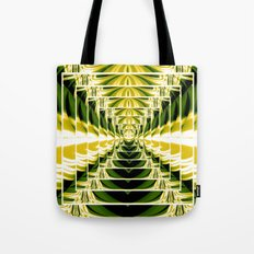 Abstract.Green,Yellow,Black,White,Lime. Tote Bag