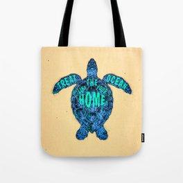 ocean omega Tote Bag