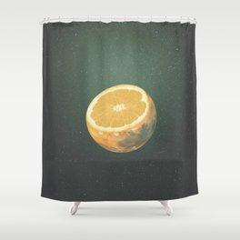Orange Juice Shower Curtain