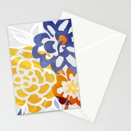 Bright Nature Abstract Stationery Cards