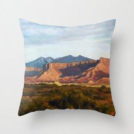 Moab Summer Evening Throw Pillow