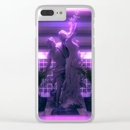 Vapor Lobby Clear iPhone Case