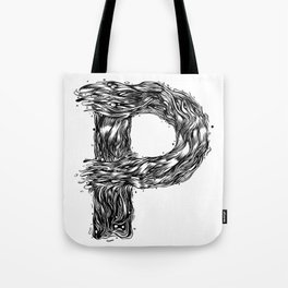 The Illustrated P Tote Bag
