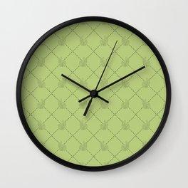 GEOMETRIC BUNNIES  Wall Clock