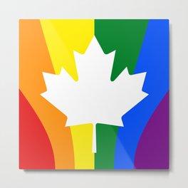 Canadian Pride Metal Print