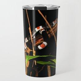 snake, harlequin coral Travel Mug
