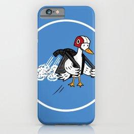 Jet Duck iPhone Case