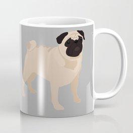 PUG - Grey Coffee Mug