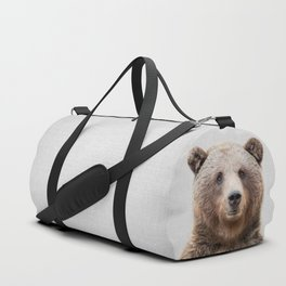 Grizzly Bear - Colorful Duffle Bag