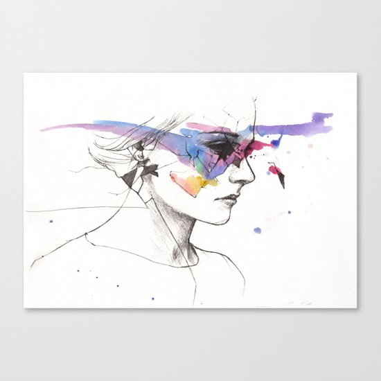 Woman With A New Vision Canvas Print