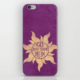 Live your Dream iPhone Skin