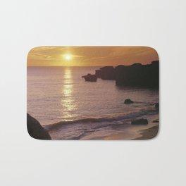 Sunset, Sao Rafael, Portugal Bath Mat