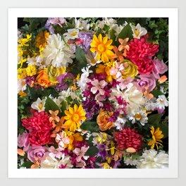 Cottage Flower Wall Art Print