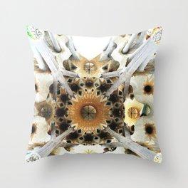 Sagrada Sky Throw Pillow