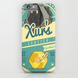Xur's Exotica iPhone Case