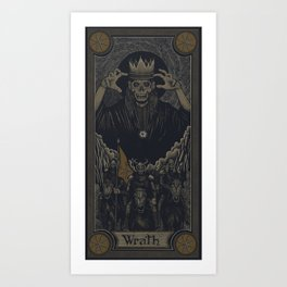 WRATH Art Print