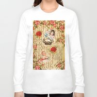 shabby chic Long Sleeve T-shirts featuring Shabby Chic by Diego Tirigall