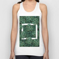 Square Between the Leaves Unisex Tank Top