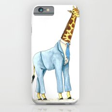 Giraffe in suit iPhone 6s Slim Case