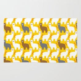 The Alpacas Rug