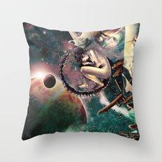 Space Mirror Throw Pillow