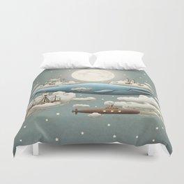 Ocean Meets Sky Duvet Cover