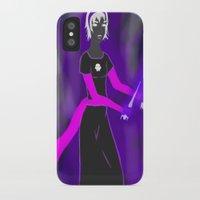 homestuck iPhone & iPod Cases featuring Grimdark Rose by Paulipse
