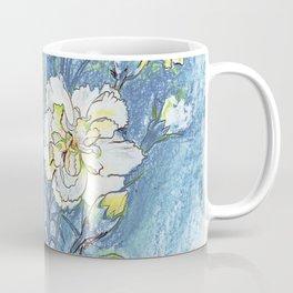 Carnation Flowers color pencil Coffee Mug