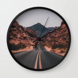 Road to anywhere Wall Clock