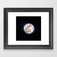 Moon Magic Framed Art Print