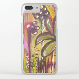Bacca Vida (berry life) Clear iPhone Case