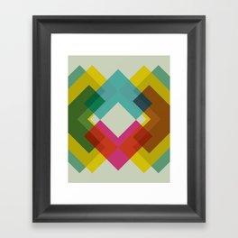 Cacho Shapes XXXVI Framed Art Print