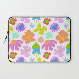 Mod Scandinavian Floral Laptop Sleeve