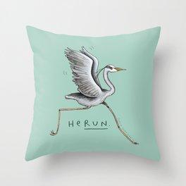 HeRUN Throw Pillow
