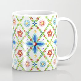 Millefiori Heraldic Lattice Coffee Mug