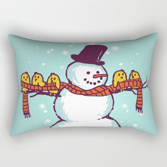 Sharing is caring (Winter edition) Rectangular Pillow