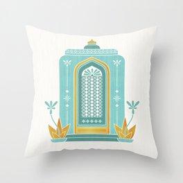 Moroccan Doorway Throw Pillow