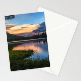 Dreaming Juanita Lake in Northen California Stationery Cards