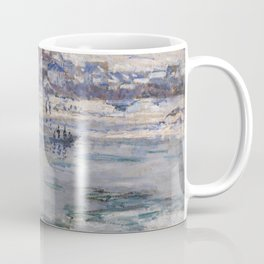 Vétheuil in Winter Coffee Mug