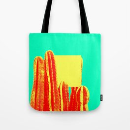 Yellow Cube Tote Bag