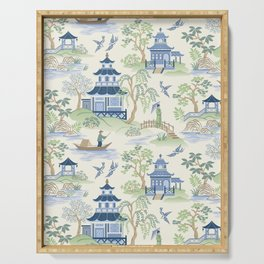 Chinoiserie Serving Tray