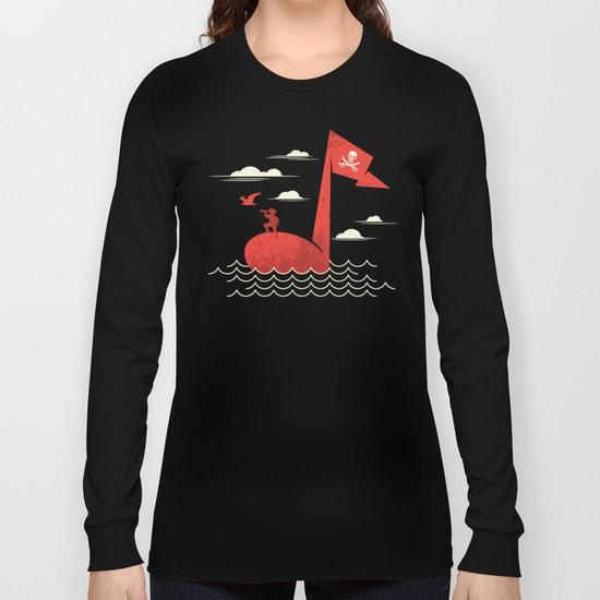 the pirate's song Long Sleeve T-shirt