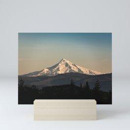 PNW Mount Hood Adventure Mini Art Print