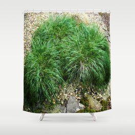 Decorative Grass Shower Curtain
